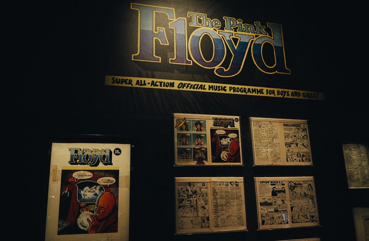Family day out at the pink floyd exhibition london v a for Pink floyd exhibition