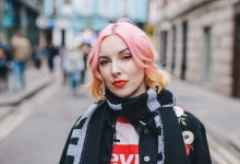 London Fashion Week Outfits Days 3 & 4. Letting my hair do the talking… Confessions of an alt girl.