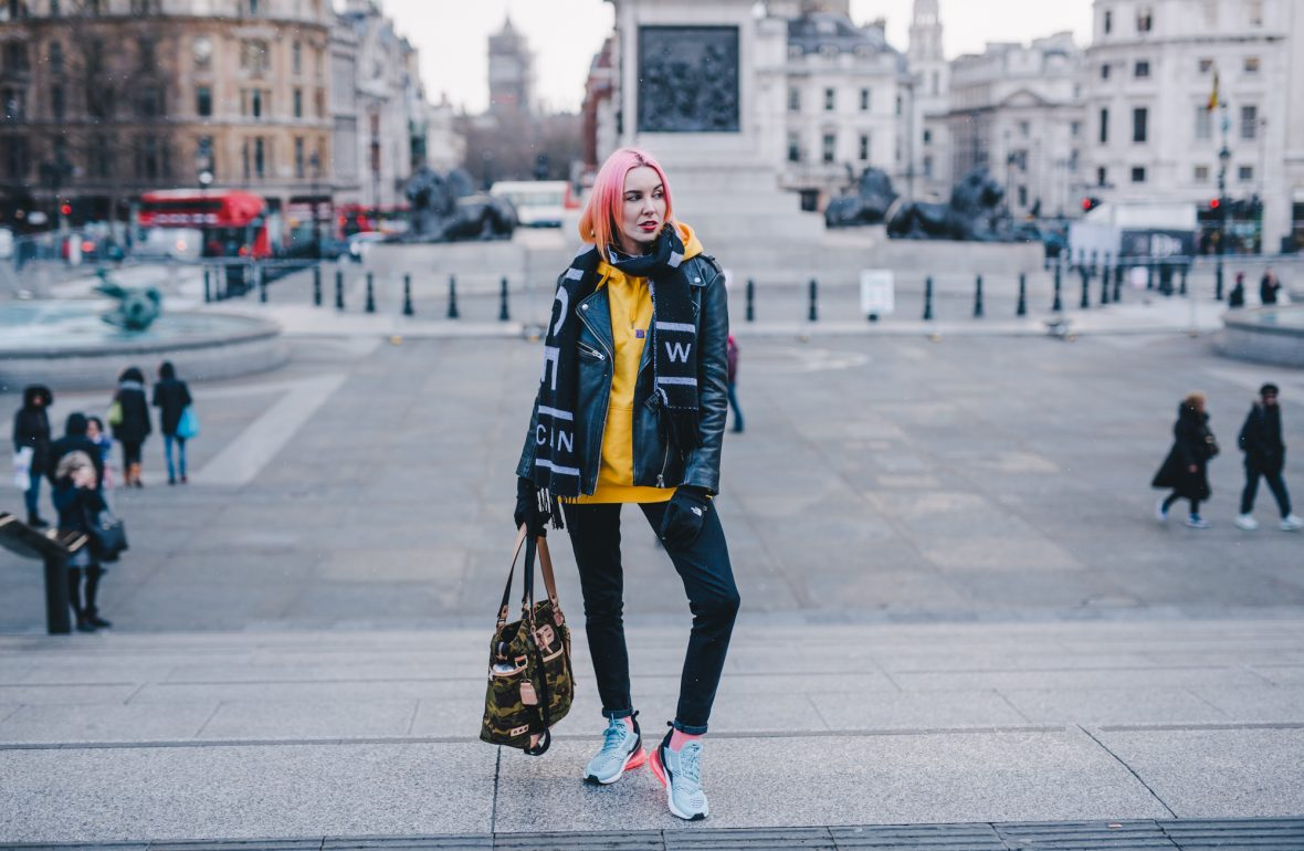 save off 805d2 669ba Wearing the Nike Air Max 270 in the snow. And a little bit about what  living in London means to me…
