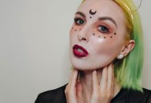 Halloween Make Up: A Halloween Creature!