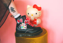 Hello Kitty and Friends collaborates with Dr Martens again!